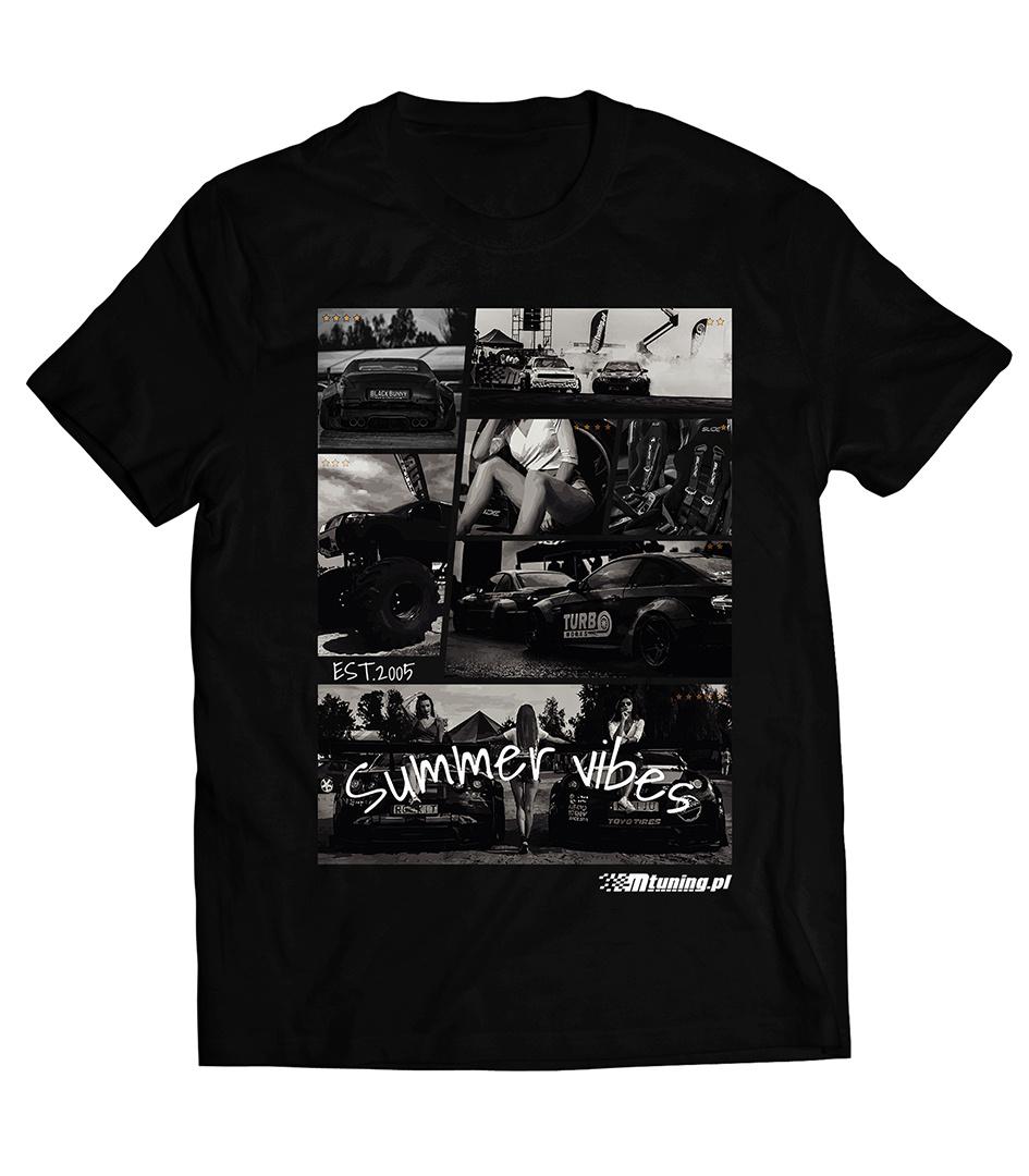Koszulka T-Shirt MTuning Czarna S - GRUBYGARAGE - Sklep Tuningowy
